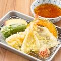 料理メニュー写真博多の『揚げたて天ぷら盛り合わせ』