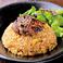 料理メニュー写真焼肉炒飯/浪速の肉うどん