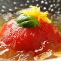 料理メニュー写真熊本産 フルーツトマト 冷製お浸し