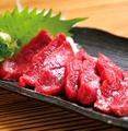料理メニュー写真熊本赤身馬刺