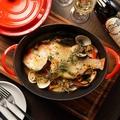 料理メニュー写真白ワインを加えて煮込んだ魚のスープ