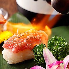 肉寿司3貫盛り合わせ