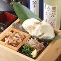 料理メニュー写真栃木県 下野 【~深山豆腐店~】の 海鮮 & 生海苔 豆腐