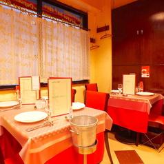ゆったりとした空間でお料理をお楽しみいただけます☆