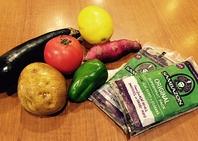 有機野菜と有機アサイー