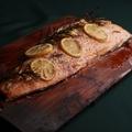 料理メニュー写真サーモンプランク1kg