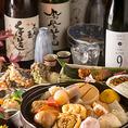 【錦三丁目の隠れ家】『名物大将』おすすめの日本酒とともに職人技光る料理に舌鼓