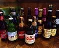 ベルギービールも豊富にご用意しています★