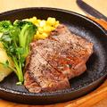 料理メニュー写真国産牛のサーロインステーキ