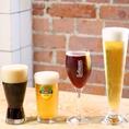 10種類以上揃うドラフトビールや、本格的エスプレッソとお値打ちワインもラインナップ。
