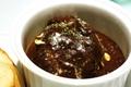 料理メニュー写真牛ほほ肉のとろとろシチュー (ガーリックトースト付)