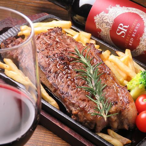 仙台で大胆に肉を食らう!厳選した牛・豚・鶏・ラム肉を豪快に焼き上げた数々の逸品!