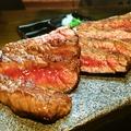 料理メニュー写真和牛ももステーキ