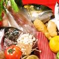 鮮魚・野菜・肉…九州素材をいち会流に仕上げます!