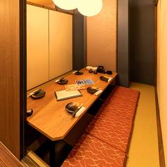 写真は6名様完全個室★何名様でも完全個室へご案内★
