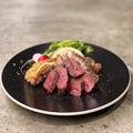 料理メニュー写真AUS産 牛サガリのステーキ
