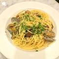 料理メニュー写真あさりとチェリートマトのスパゲティ