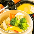 料理メニュー写真あったか野菜の和風バーニャカウダ