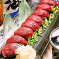 厳選した牧場から熊本県産の最高級馬肉のみを使用!安全性を現地で確認し、安心にて生食でも食べられる馬肉のみを提供しております!