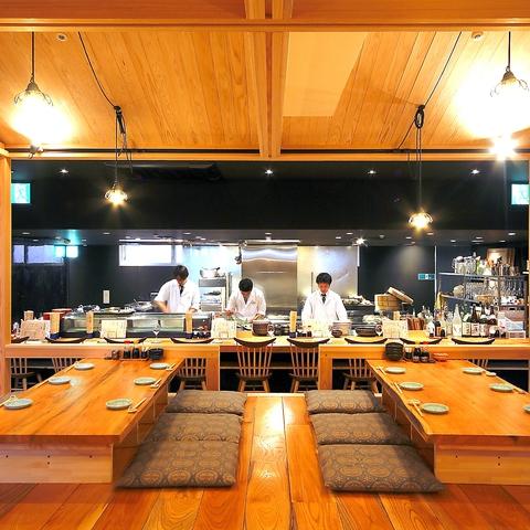 和食の名店熊本炉端 安坐!拘りの完全個室で拘り食材を使った料理でおもてなし…