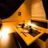 オシャレなプライベート感のある個室です♪デートや合コン等、その他様々なご宴会に◎