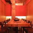 落ち着いた和空間個室は女子会にもオススメ★自慢の創作料理と美味しいお酒で話に花が咲く♪