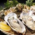 料理メニュー写真音戸の殻つき牡蠣(1個)