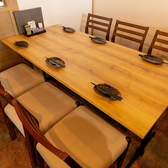 6名掛けテーブル席