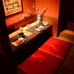 先斗町5卓 横並び掘りごたつ個室