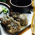 料理メニュー写真もずくと山芋の天ぷら