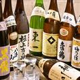 日本酒の他にも、焼酎も多数ご用意。定番のモノから希少・限定モノ、芋や麦、米やキレ・コクのある焼酎など、原料も味わいも様々な評判の良い銘酒を日本各地から厳選して取り揃えております!プレミアム飲み放題でも多数の銘柄焼酎が対象ですので、日本酒同様和食料理とともに是非ご堪能ください♪