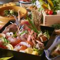 お肉だけではなく新鮮な鮮魚も豊富にご用意しております!どんなシーンでもご活用いただける万能な隠れ家個室居酒屋は一期-ichigo- 飲み会・宴会・歓送迎会・女子会・誕生日・合コン・ご家族・お食事に◎