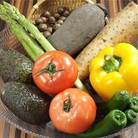 季節に合わせた旬野菜