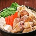 """料理メニュー写真""""ばらかもん""""一押し!鶏すき焼き"""