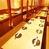 広々とした宴会個室は大人気のため早めのご予約をオススメしております!