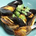 料理メニュー写真ムール貝のガーリックバター醤油