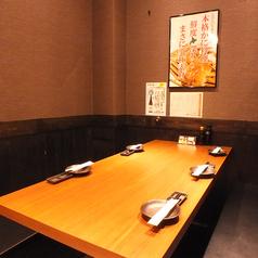 3~5名様テーブル席