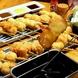秘伝のソースで味わう「本場大阪串かつ」創作串揚げ60種
