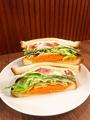 料理メニュー写真サンドイッチ各種