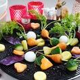 季節の旬彩を… その時期一番おいしい野菜を一番おいしい産地から厳選