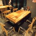 4名様テーブル席★何だか座り心地の良いイスです