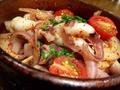 料理メニュー写真タコの中東風ソテー