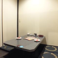 写真は2名様完全個室★何名様でも完全個室へご案内★
