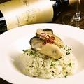 料理メニュー写真牡蠣のバジルリゾット