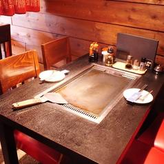 他の席と離れているのでゆっくりとお食事をお楽しみ頂けます♪