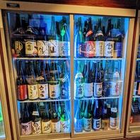 全国47都道府県!50種以上の日本酒をご用意。