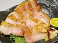 料理メニュー写真ルイビ豚の塩焼き