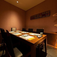 【接待向き】テーブル席完全個室