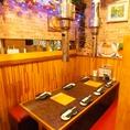 個室風の空間でみんなでワイワイ焼肉を楽しめます!食べ放題は1980円~!楽しい飲み会・送別会・歓迎会・宴会は是非当店で★