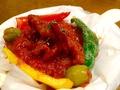 料理メニュー写真イイダコとオリーブのトマト煮